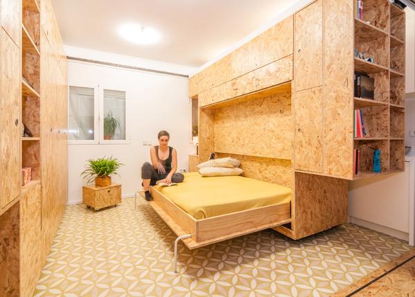 Muebles apartamento todo lo b sico en un mueble for Can i design my own house