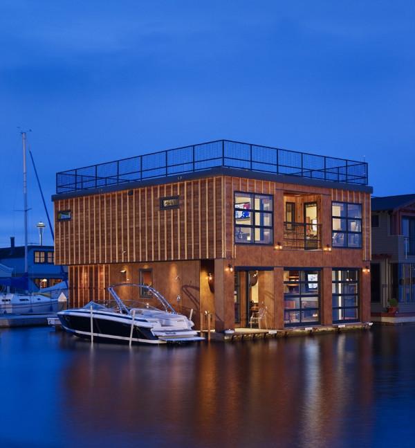 10 casas flotantes vida sencilla minimalista y econ mica for Build on your lot washington state