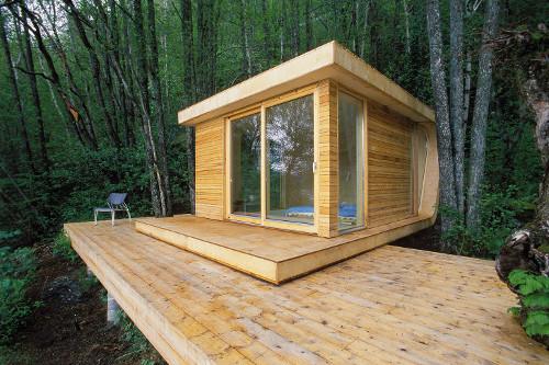 10 casas baratas y prefabricadas para simplificar tu vida faircompanies - Wooden cube house plans ...