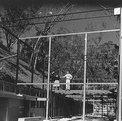 Durante la construcción de la casa Eames