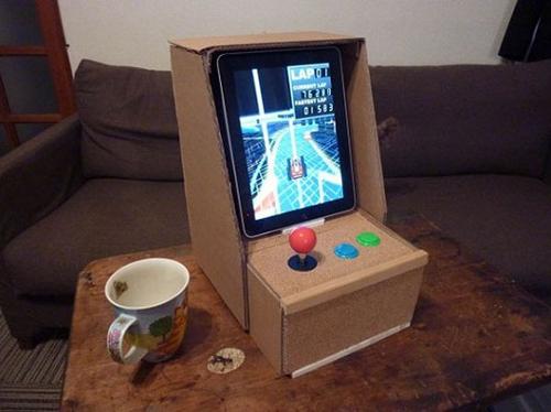 Cardboard Arcade Cabinet