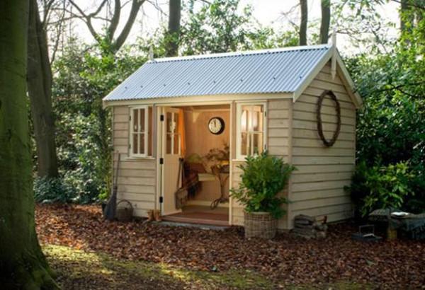 La humanidad casas de trabajo de 10 escritores lugares for Casas de madera pequenas
